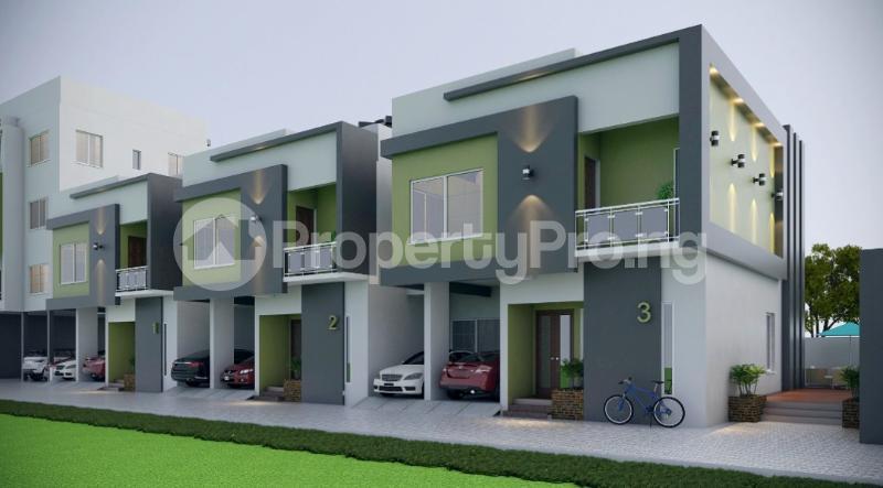 4 bedroom Terraced Duplex House for sale Ologolo Lekki Lagos - 1