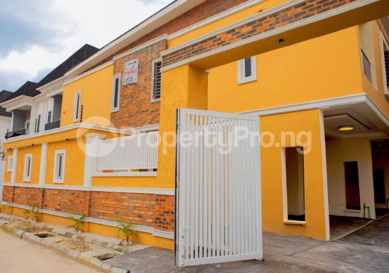 4 bedroom Terraced Duplex House for rent Chevron Alternative chevron Lekki Lagos - 5