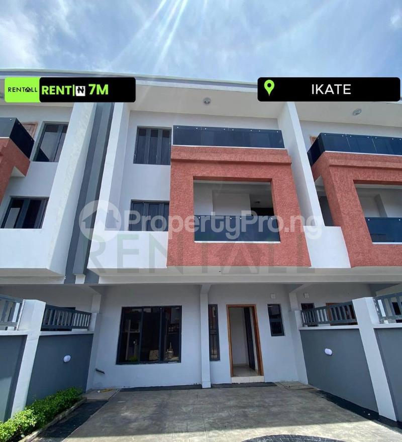 4 bedroom Terraced Duplex for rent Ikate Lekki Lagos - 0