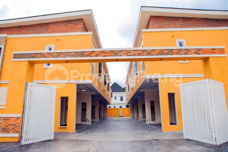 4 bedroom Terraced Duplex House for rent Chevron Alternative chevron Lekki Lagos - 2
