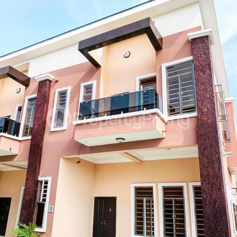 4 bedroom Terraced Duplex House for sale Chevron Alternative  chevron Lekki Lagos - 1