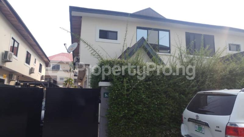 4 bedroom Semi Detached Duplex for sale Osborne Phase 1 Osborne Foreshore Estate Ikoyi Lagos - 0
