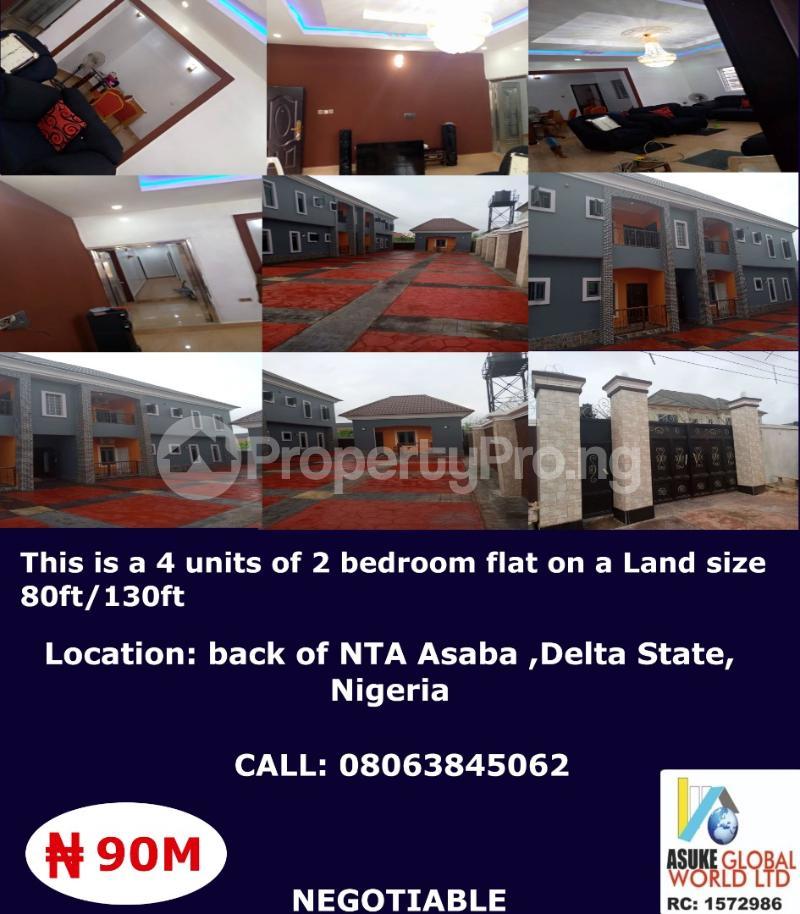 House for sale Back Of Nta Asaba ,delta State Nigeria Asaba Delta - 0