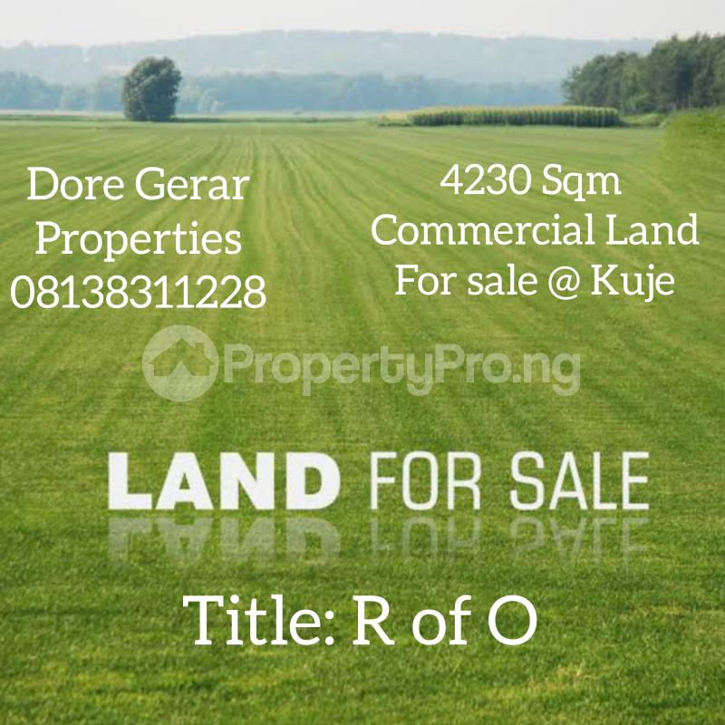 Commercial Land for sale Kuje Abuja - 0