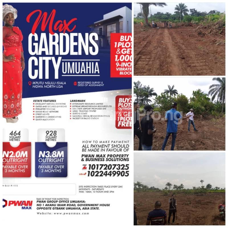 Land for sale Max Garden City Umuahia North Abia - 0