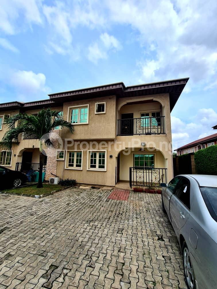 4 bedroom Semi Detached Duplex for rent Justice Coker Estate Alausa Alausa Ikeja Lagos - 0