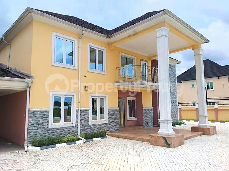 4 bedroom Detached Duplex House for rent Harmony Estate Naf Airforce Eliozu Port Harcourt Rivers - 1