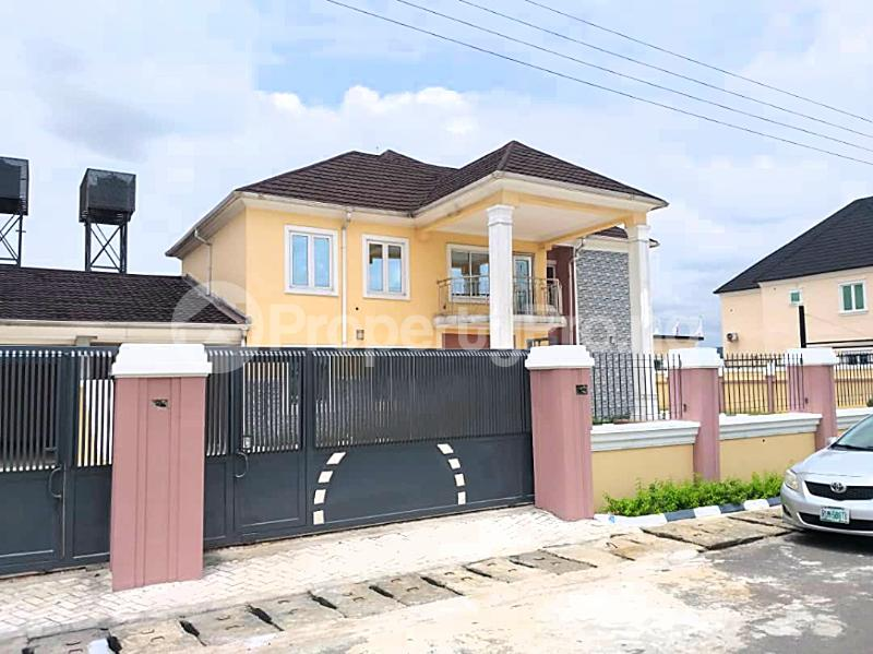 4 bedroom Detached Duplex House for rent Harmony Estate Naf Airforce Eliozu Port Harcourt Rivers - 0