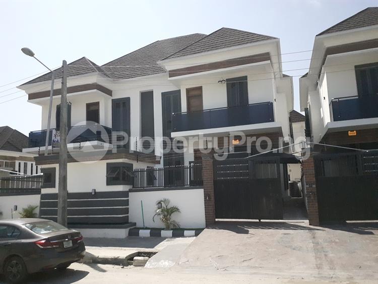 4 bedroom Semi Detached Duplex House for sale chevron lekki chevron Lekki Lagos - 1