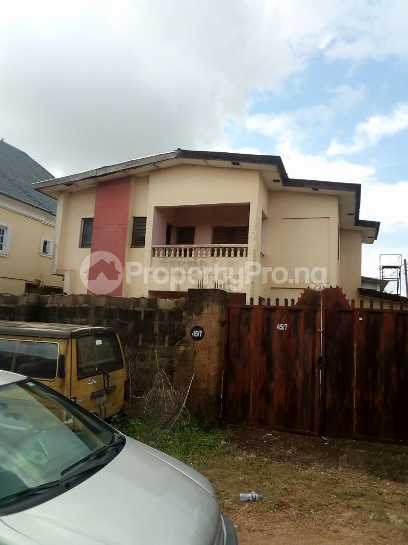 4 bedroom Detached Duplex House for sale Off Augustin street trans ekulu enugu  Enugu Enugu - 1