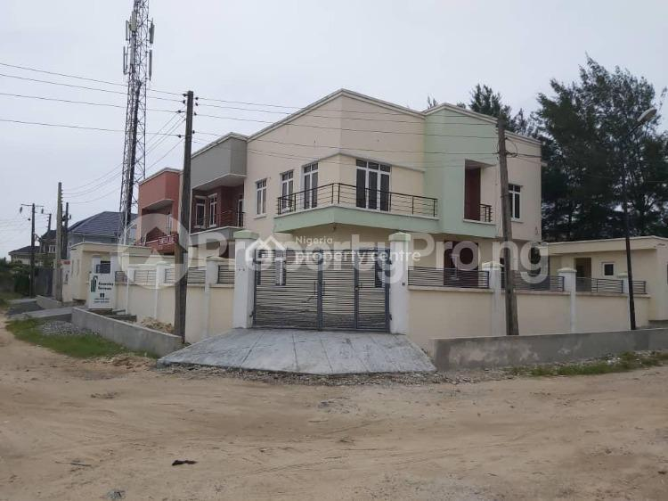 4 bedroom Semi Detached Duplex House for sale Atlantic View Estate off New Road Igbo-efon Lekki Lagos - 0