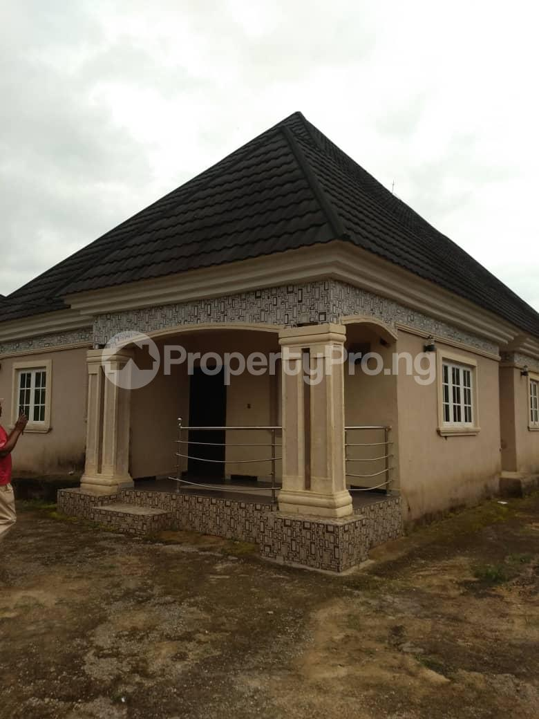 4 bedroom Detached Bungalow House for sale off sapele road after bypass Oredo Edo - 0