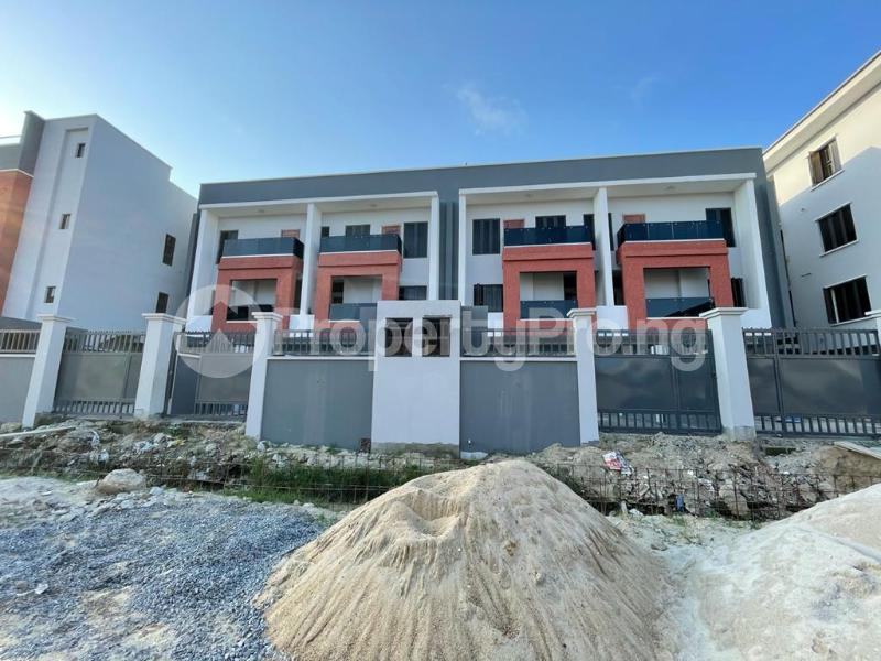 4 bedroom Terraced Duplex House for sale Behind Enyo Filling Station, Chisco Bustop  Ikate Lekki Lagos - 0