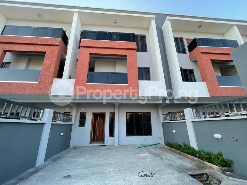 4 bedroom Terraced Duplex House for sale Behind Enyo Filling Station, Chisco Bustop  Ikate Lekki Lagos - 19