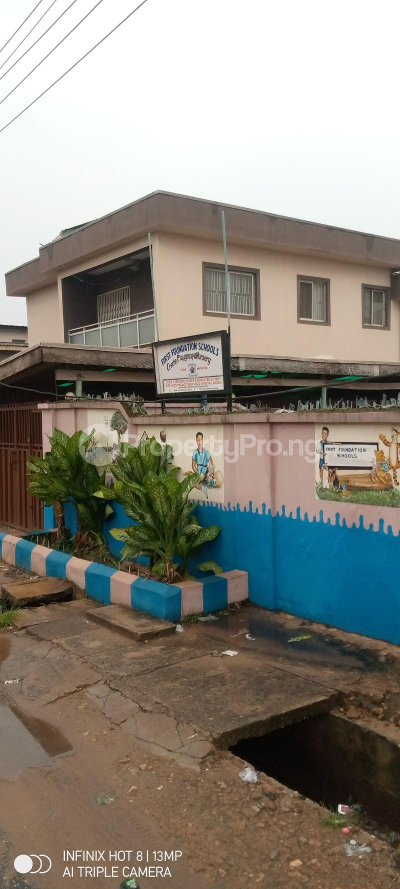 5 bedroom Detached Duplex House for sale Ago palace way Isolo Lagos - 0