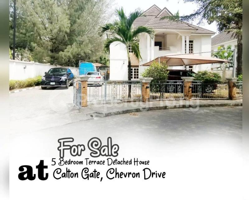 5 bedroom Detached Duplex for sale Carlton Gate Estate, Chevron Drive, Lekki, Lagos. chevron Lekki Lagos - 0