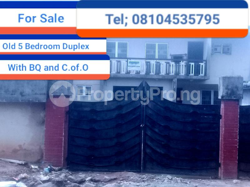 5 bedroom Detached Duplex for sale Gius Idubor, Central Road Oredo Edo - 1
