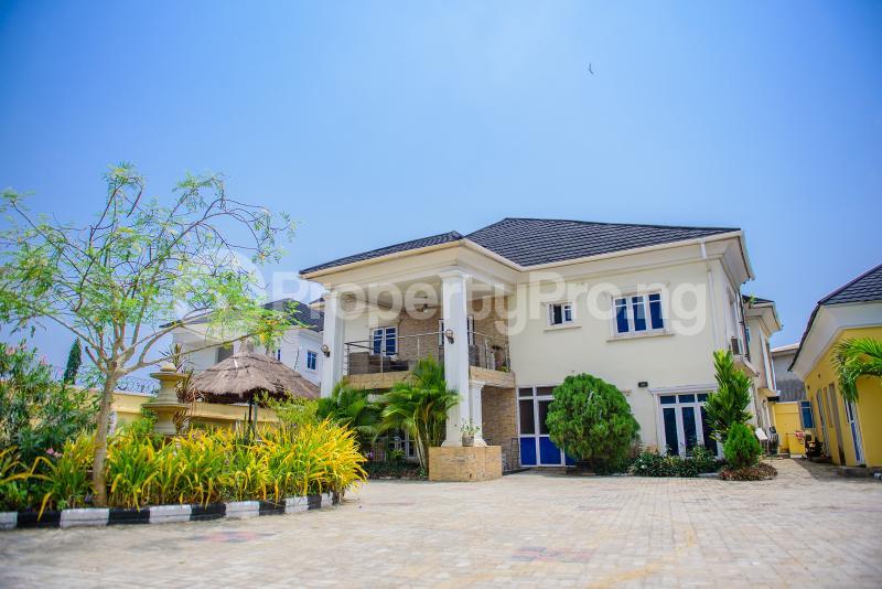 5 bedroom Detached Duplex for shortlet First Unity Estate, Co Operative Bustop Badore Ajah Lagos - 0