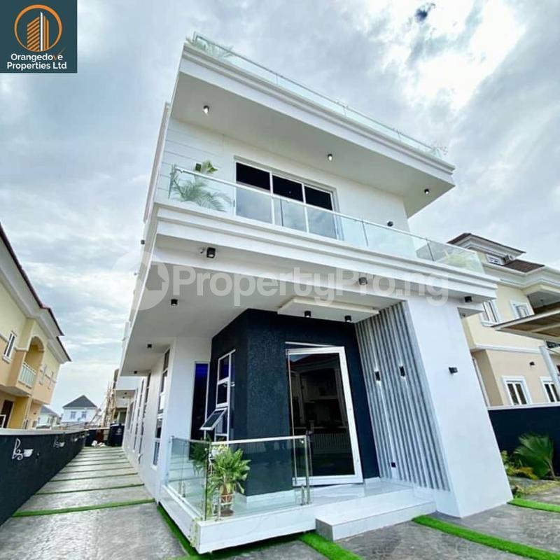 5 bedroom Detached Duplex House for rent Osapa london Lekki Lagos - 6