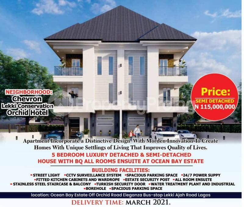 5 bedroom Detached Duplex House for sale Off Orchid Hotel Road By Eleganza chevron Lekki Lagos - 5