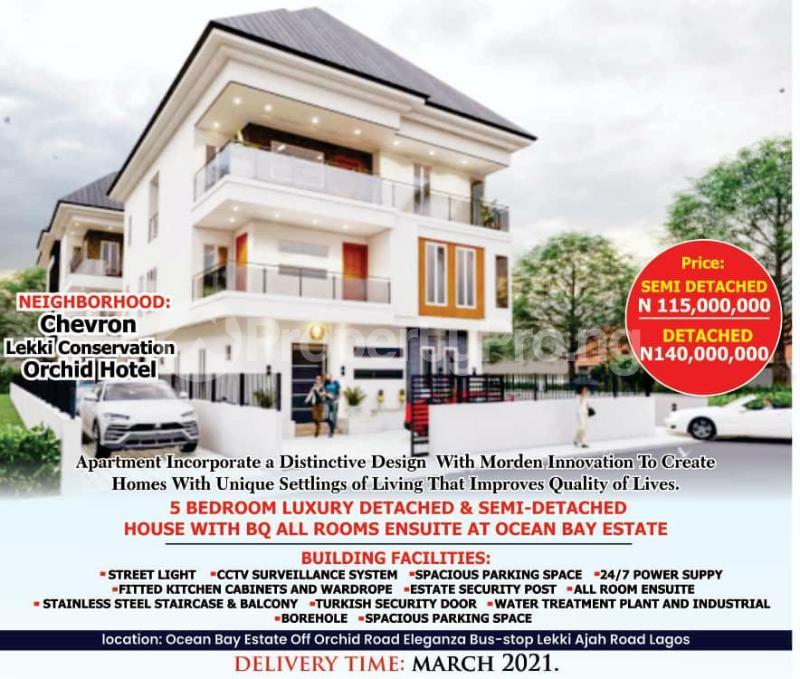 5 bedroom Detached Duplex House for sale Off Orchid Hotel Road By Eleganza chevron Lekki Lagos - 4