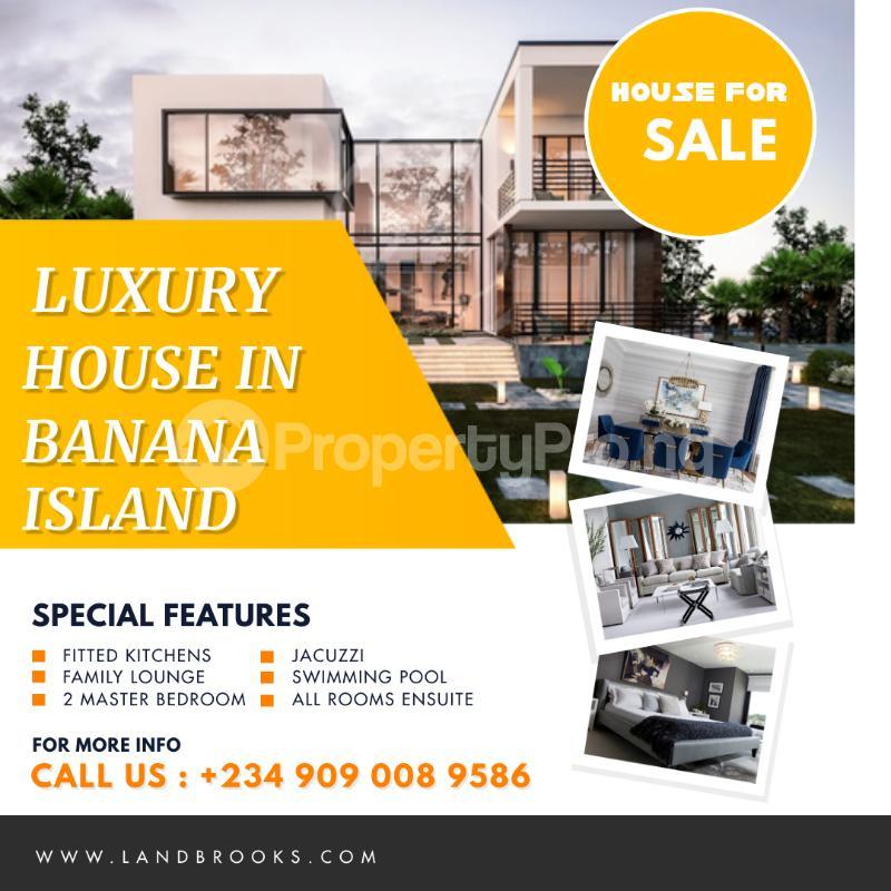 5 bedroom Detached Duplex for sale Foreshore Estate Banana Island Ikoyi Lagos - 1