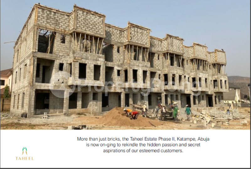 5 bedroom Terraced Duplex House for sale Taheel Estate, Diplomatic Zone Katampe Ext Abuja - 1