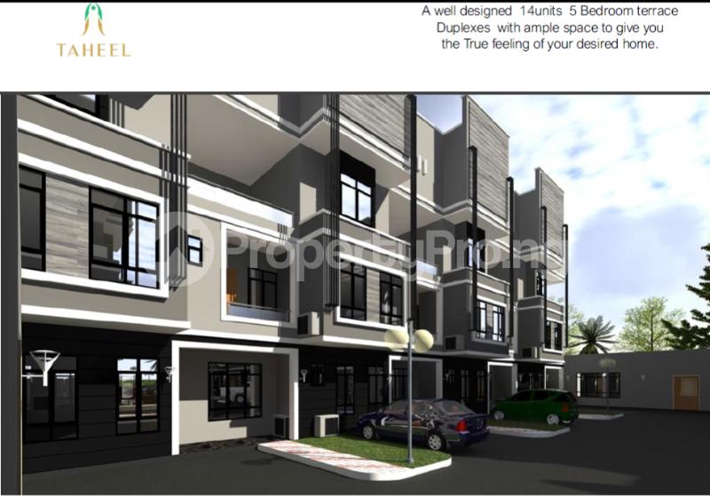 5 bedroom Terraced Duplex House for sale Taheel Estate, Diplomatic Zone Katampe Ext Abuja - 0