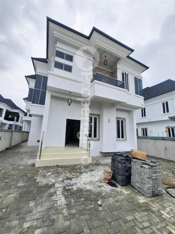 4 bedroom Detached Duplex for sale Orchid Road Chevron Lekki Lagos State Nigeria chevron Lekki Lagos - 1