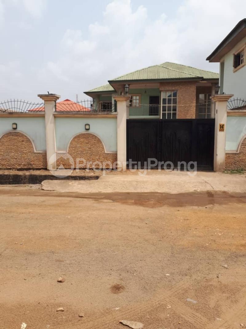 6 bedroom Detached Duplex House for sale 5bedroom duolex at new oko oba  Isheri Egbe/Idimu Lagos - 1