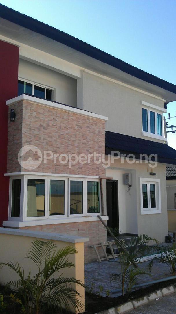 5 bedroom Detached Duplex for sale New Road (alpha Beach Road) Opp. Chevy View Estate. Lekki Lagos - 0
