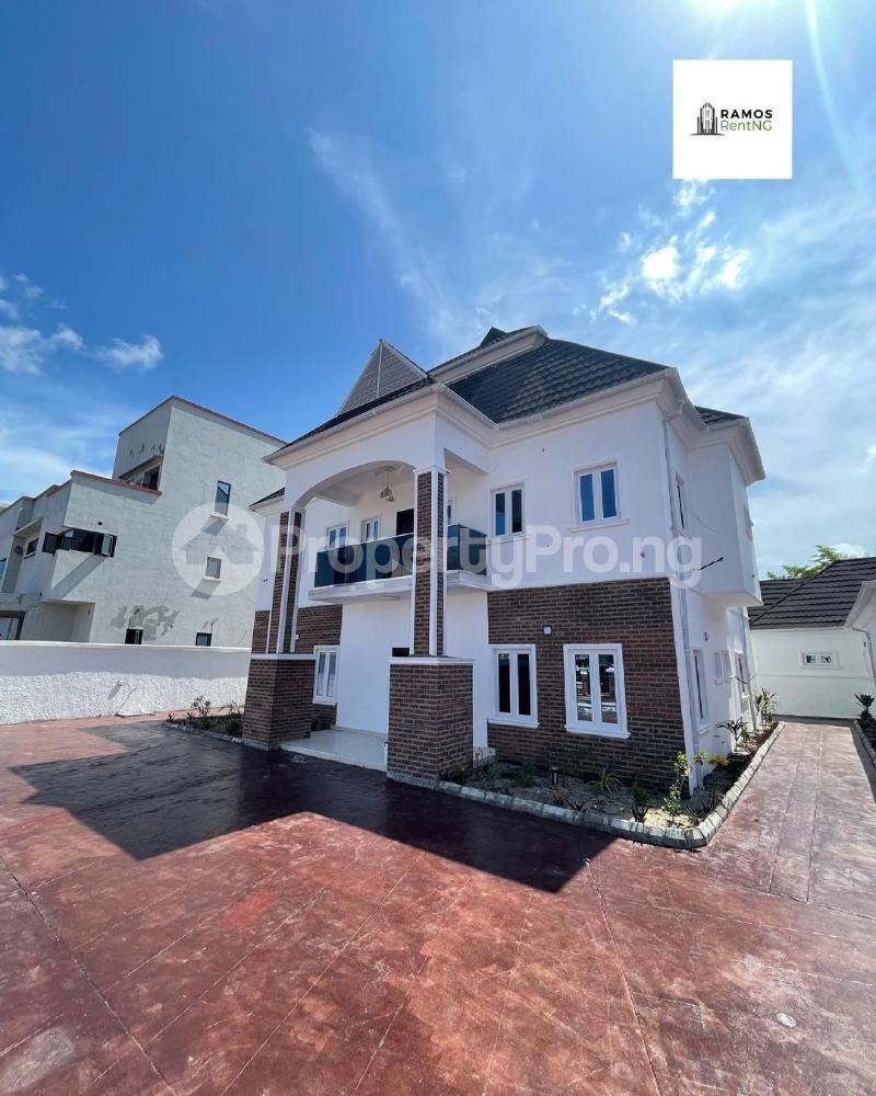 6 bedroom Detached Duplex House for rent Pinnock beach estate Osapa london Lekki Lagos - 0