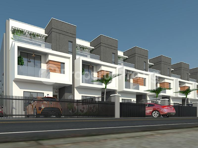 6 bedroom Terraced Duplex for sale Orchid Road Lekki Phase 2 Lekki Lagos - 1