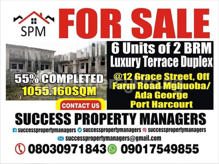Detached Duplex House for sale Grace Street,farm Road,mgbuoba, Off Ada George, Port Harcourt, Rivers State. Ada George Port Harcourt Rivers - 0