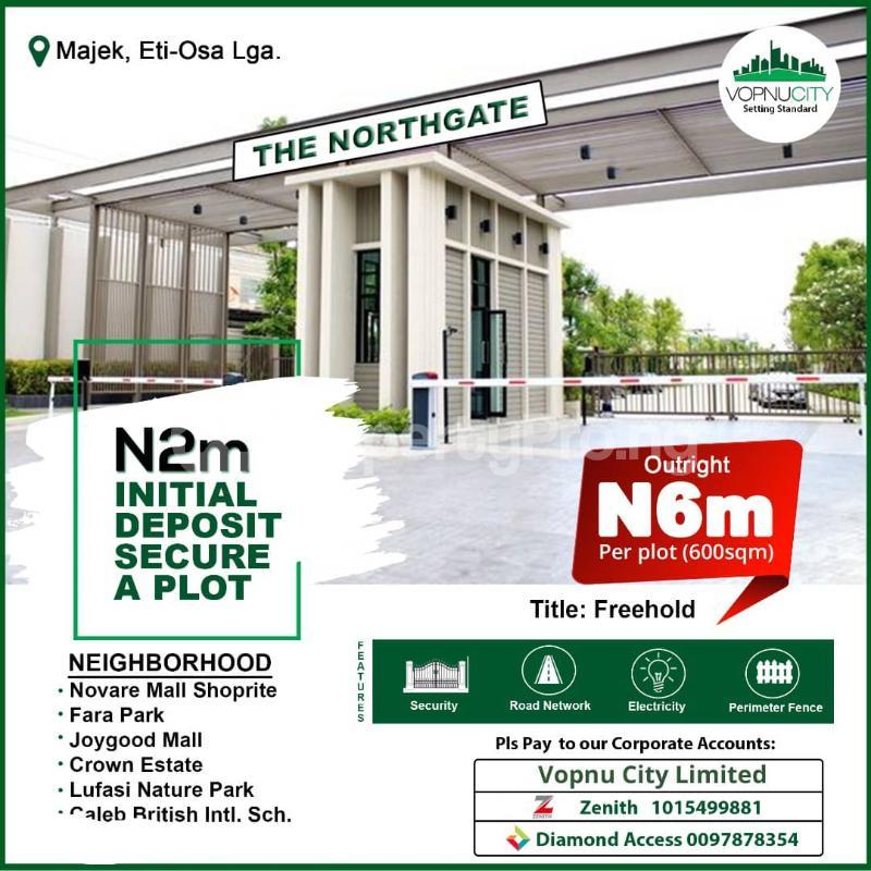 Land for sale Opposite Fara Park Estate By Majek Bus Stop, Off Lekki Epe Express Road Lekki Lagos - 0