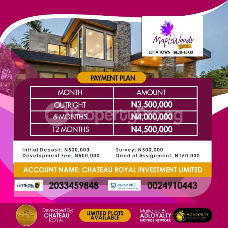Residential Land Land for sale Lepia Town Ibeju-Lekki Lagos - 2