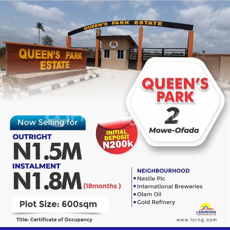 Mixed   Use Land Land for sale - Mowe Obafemi Owode Ogun - 0