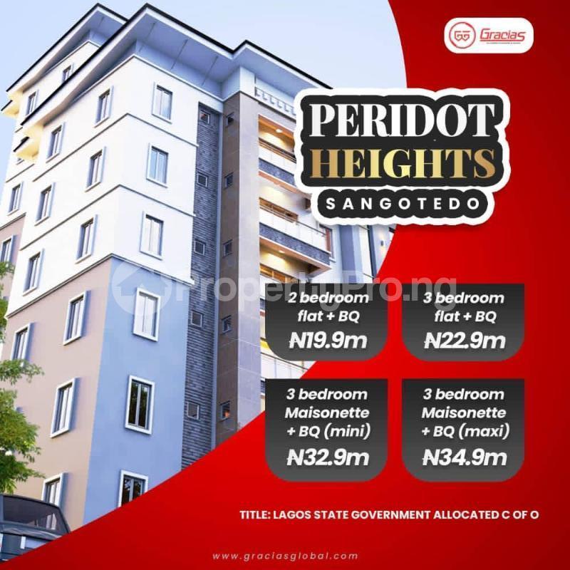 3 bedroom Massionette for sale Sangotedo Lagos - 0