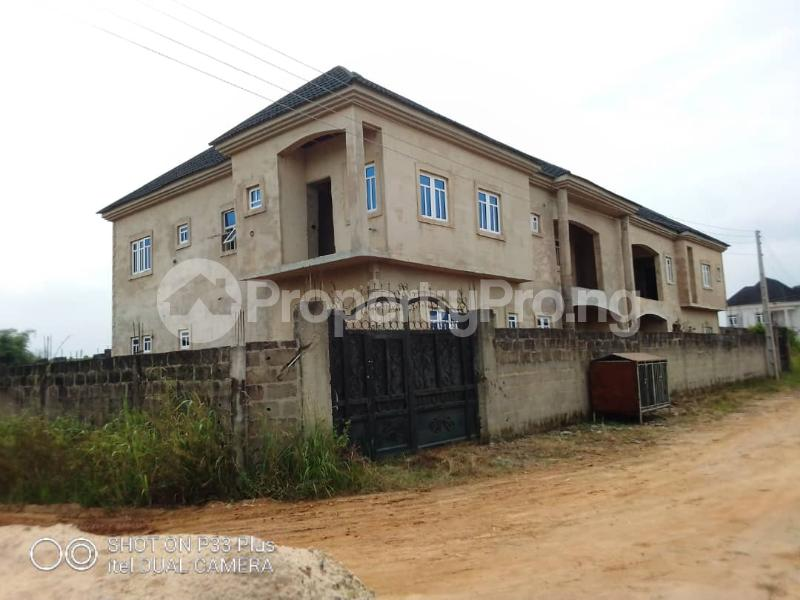 House for sale Statistics Estate Besides Property Mart Estate, Before Arepo, Wawa.  Arepo Arepo Ogun - 2