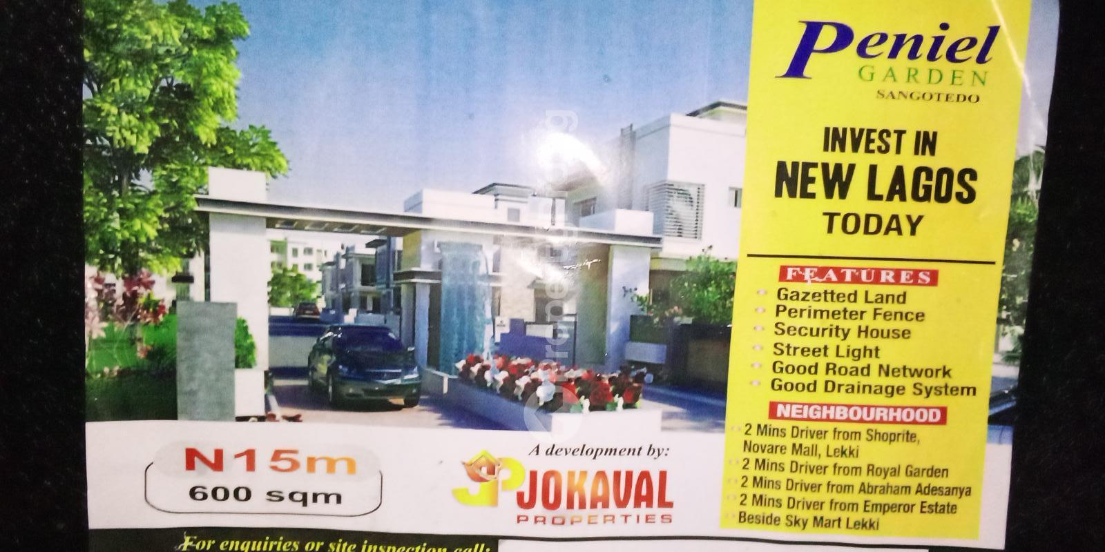 Residential Land for sale Inside Hopeville Estate, Shangotedo Sangotedo Ajah Lagos - 0