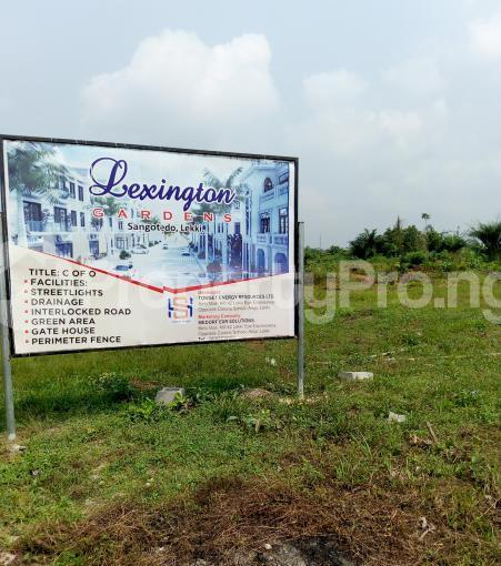 Residential Land for sale Ajayi Apata Estate, Behind Fara Park 11 Sangotedo Ajah Lagos - 0