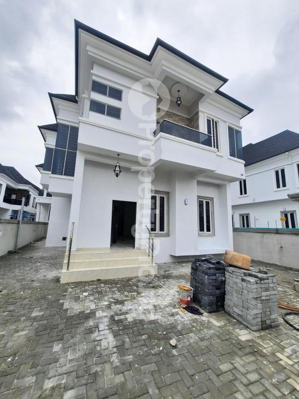4 bedroom Detached Duplex for sale Orchid Road Chevron Lekki Lagos State Nigeria chevron Lekki Lagos - 0