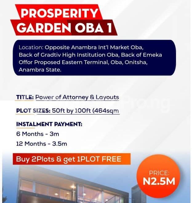 Residential Land for sale Anambra International Market Idemili south Anambra - 1