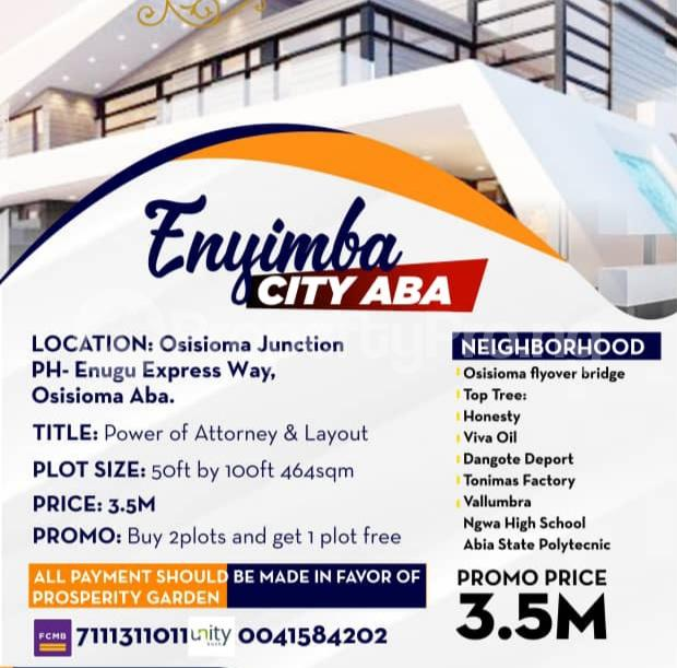 Residential Land for sale Abia State Polytechnic Osisioma Abia - 1