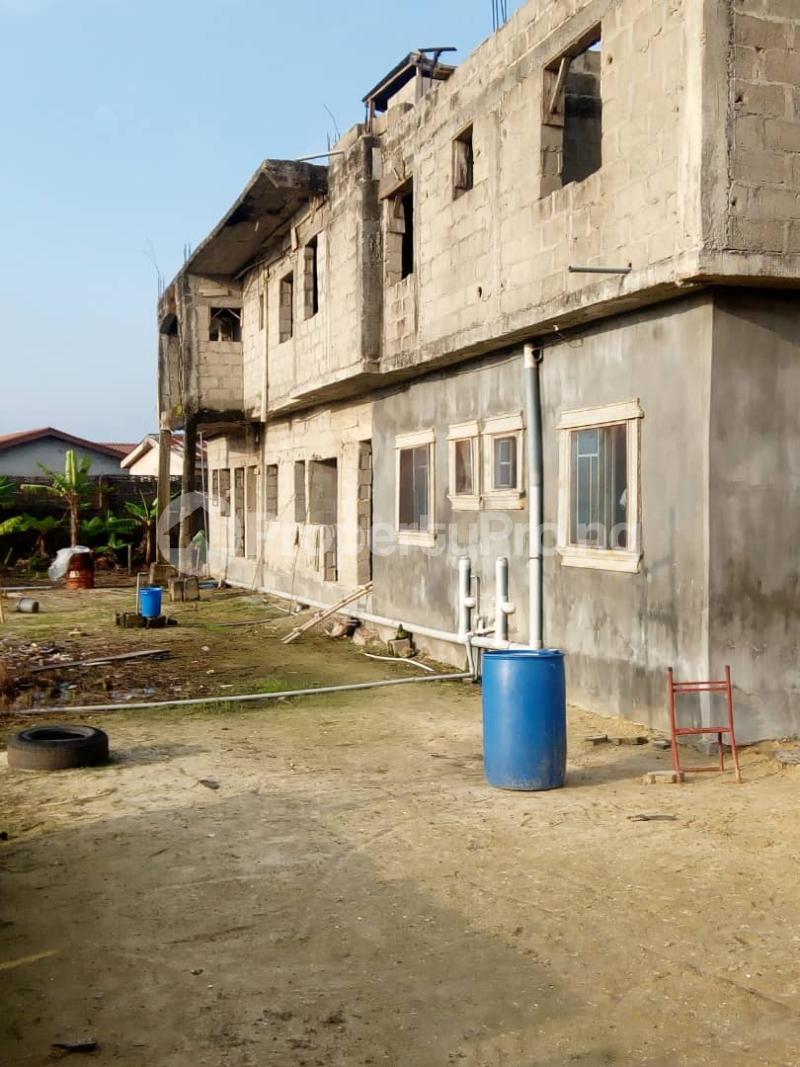 Blocks of Flats House for sale Irede Road, By Abule Oshun, waterside (Ango Beach Estate) Trade fair Apapa Lagos - 2