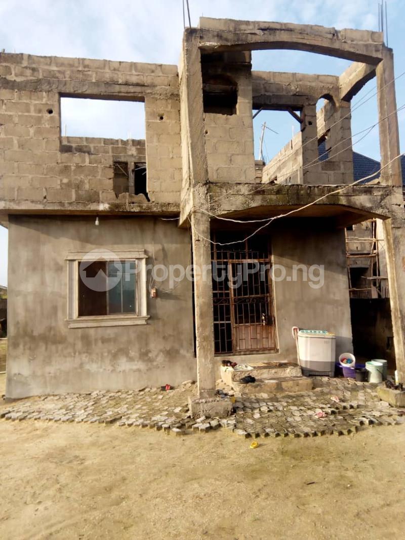 Blocks of Flats House for sale Irede Road, By Abule Oshun, waterside (Ango Beach Estate) Trade fair Apapa Lagos - 0