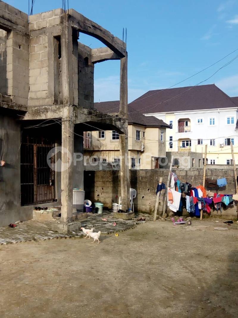 Blocks of Flats House for sale Irede Road, By Abule Oshun, waterside (Ango Beach Estate) Trade fair Apapa Lagos - 1
