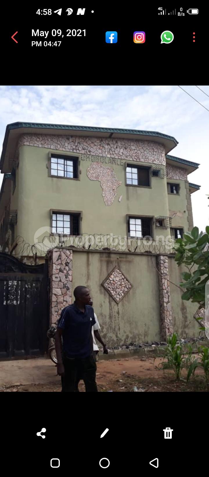 3 bedroom Blocks of Flats for sale Akute Ijoko Road, Akute Ogun State. Agbado Ifo Ogun - 1