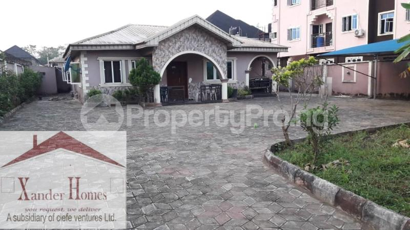 4 bedroom Detached Bungalow House for sale Bucknor Estate Bucknor Isolo Lagos - 1