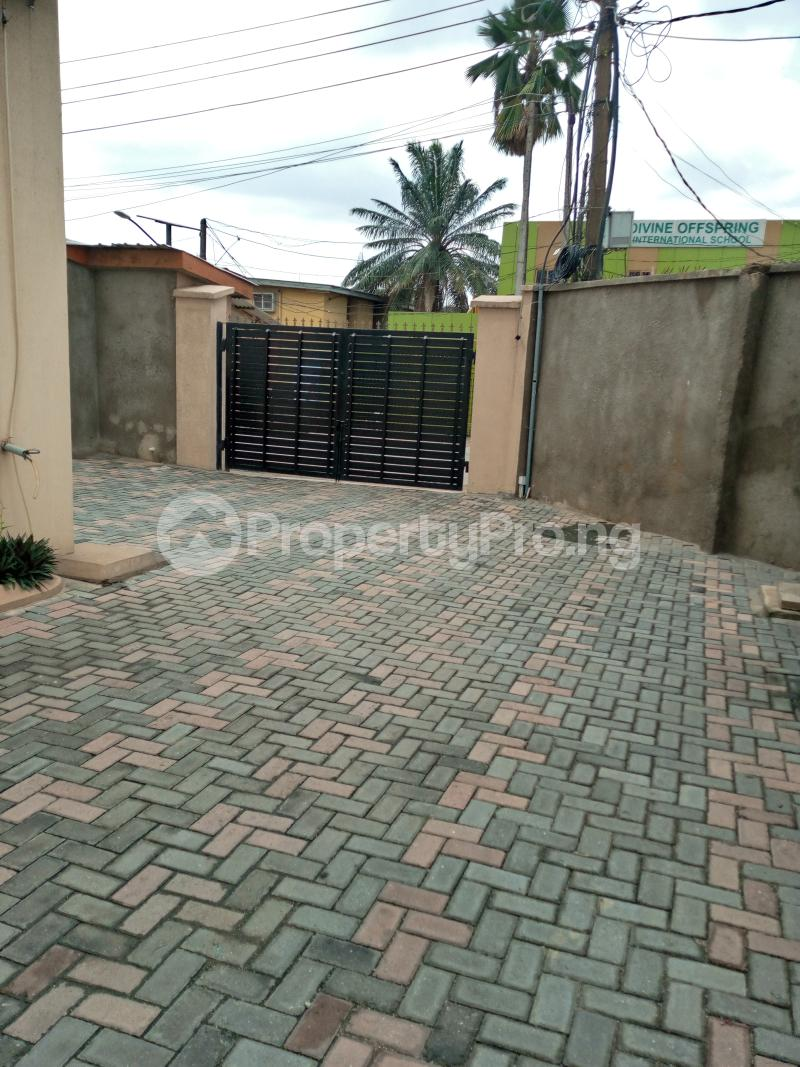 4 bedroom Blocks of Flats House for sale Talabi street off surulere industrial road Ogba Adeniyi jones Ogba Industrial Ogba Lagos - 11